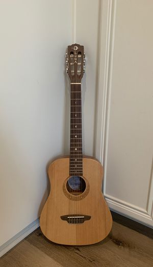 Luna guitar safari nylon travel with bag for Sale in Carlsbad, CA