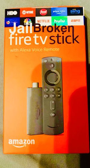 Fire TV Stick or 4K Stick with everything and more. Message for details. Pickup In Elizabeth or have it shipped for Sale in Elizabeth, NJ