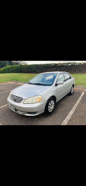2004 Toyota Corolla LE for Sale in Pearl City, HI