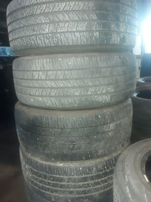 """Used 17 and 18"""" inch tires 255/50/18 245/55/17 25 for Sale in Atlanta, GA"""