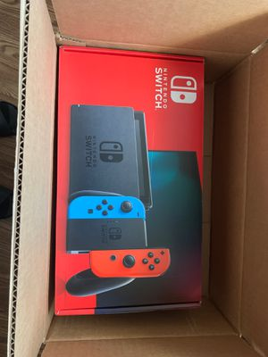BRAND NEW Nintendo Switch joy con neon blue red for Sale in Hayward, CA