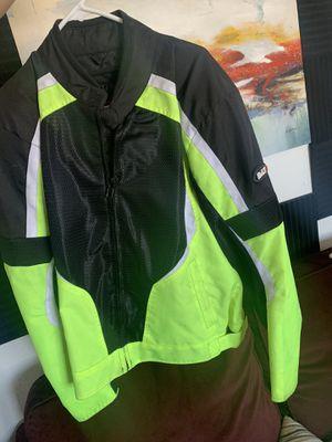 Bilt Large Motorcycle Jacket for Sale in Las Vegas, NV