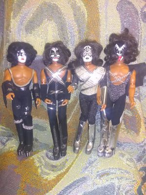 KISS Mego Dolls Set for Sale in San Antonio, TX