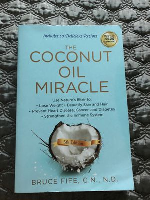 The coconut oil miracle for Sale in Tampa, FL