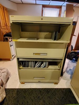 4 Drawer Tall File Cabinet for Sale in Baltimore, MD