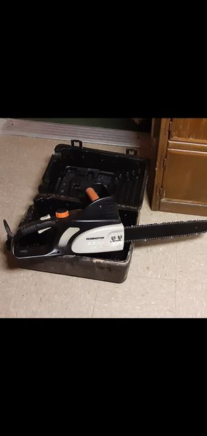 Remington 3.0 chainsaw for Sale in North Little Rock, AR