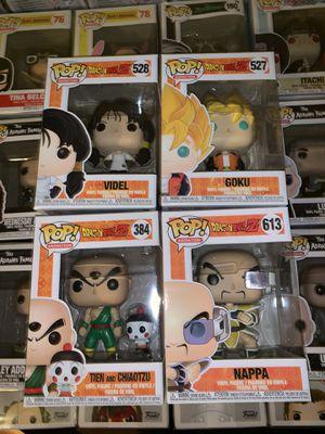 Dragon Ball Z Funko Pops set of 4 for Sale in Phoenix, AZ