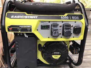 6,500-Watt Gasoline Powered Portable Generator with CO Shutdown Sensor for Sale in Bakersfield, CA
