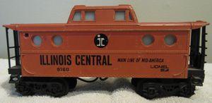 Lionel 9160 Illinois Central 1970 Caboose for Sale in Oak Forest, IL