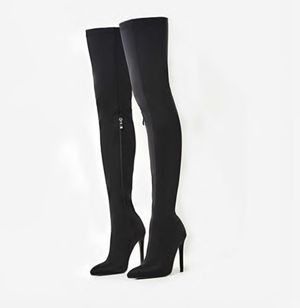 Black Thigh High Boots for Sale in Baltimore, MD