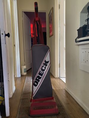 Oreck Vacuum Cleaner w/extra bags. Used only once for Sale in San Diego, CA