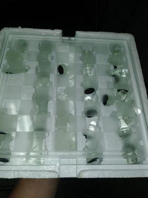 GLASS CHESS GAME for Sale in Rancho Cordova, CA