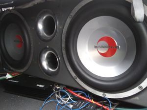 Big boy 12 inch speakers knock have a 1200 amp for Sale in Hamden, CT
