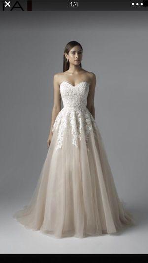 Mia Solano Carris strapless sweetheart wedding dress for Sale in Phoenix, AZ