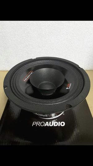 """6.5"""" PRO AUDIO DUAL CONE MID-RANGE 225 WATTS 8 OHMS for Sale in East Los Angeles, CA"""
