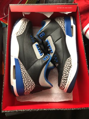 Size 11.5 sport blue 3s for Sale in Gambrills, MD