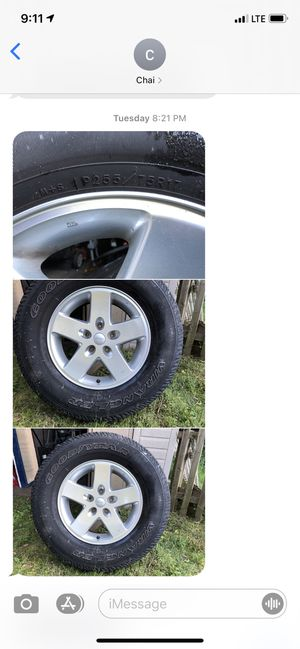 Set of 5 -17' Jeep Wrangler wheels 2008 for Sale in Woonsocket, RI