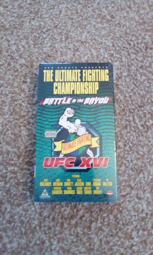 UFC XVI Battle in the Bayou VHS for Sale in Abilene, TX