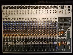Peavey XR 1220 Pro Audio 20 Channel Mixer / 1200 watt PA Speaker Amp for Sale in White Plains, MD