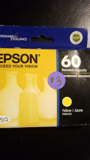Epson yellow T060420 for Sale in Charlotte, NC