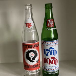 Vintage RC Cola & 7Up Bottles for Sale in Pittsburgh, PA