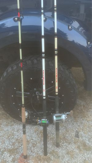 Fishing poles for Sale in Cloverdale, IN