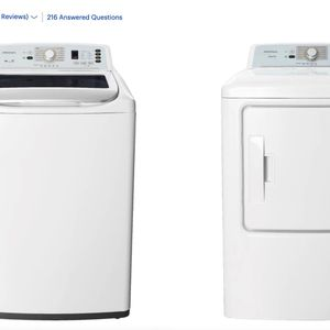 **NEW** Insignia Washer And Dryer *COMBO SET* for Sale in Washington, DC