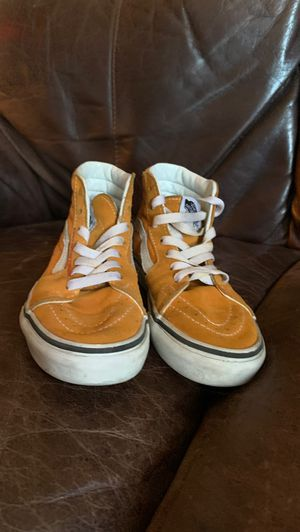 Mustard yellow original Vans .. good condition for Sale in Jamaica, NY