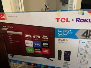 TCL Roku 55 Inch TV 4K UHD for Sale in Torrance, CA