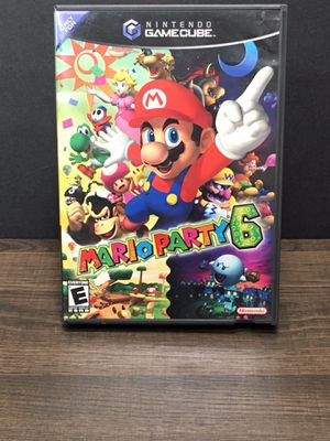 NINTENDO GAMECUBE MARIO PARTY 6 for Sale in Garden Grove, CA