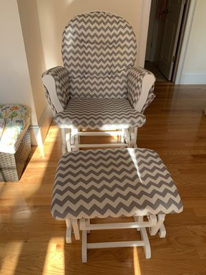 Slider and ottoman for Sale in Belmont, MA