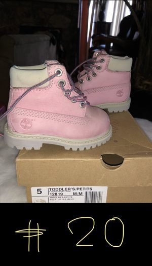 Timberland boots (baby girl) for Sale in San Antonio, TX