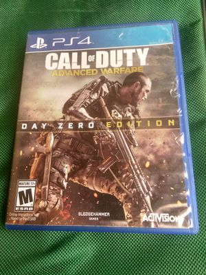 Ps 4 call of Duty Day cero for Sale in Houston, TX