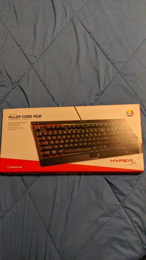 HyperX alloy core rgb (MEMBRANE) gaming keyboard for Sale in Montrose, CO
