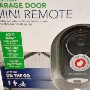 UNIVERSAL 2-BUTTON GARAGE DOOR MINI REMOTE for Sale in Mesa, AZ
