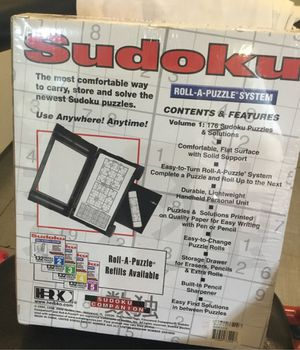 Sudoku game for Sale in Puyallup, WA