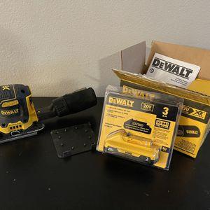 Dewalt DCW200 Brushless Palm Sander Cordless 20v And Battery for Sale in Phoenix, AZ