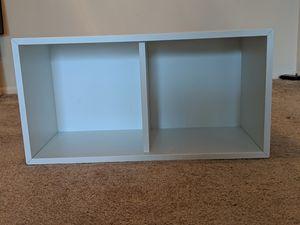 2 shelf bookcase, White for Sale in Mount Prospect, IL