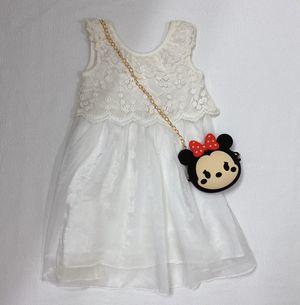 White Lace Vintage Flower Girl's Dress for Sale in Ypsilanti, MI