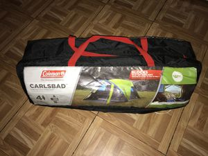Coleman Carlsbad 4-Person Dome Tent for Sale in Brookline, MA