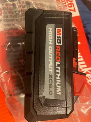 Milwaukee new battery XC8.0 for Sale in Chicago, IL