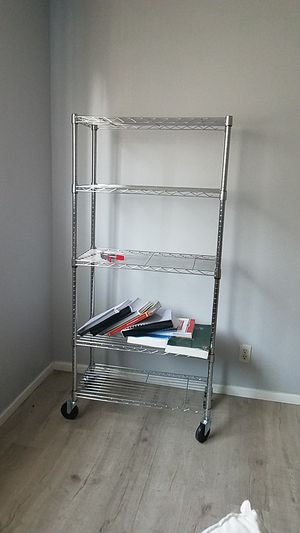 Baker or wire rack on casters for Sale in Long Beach, CA