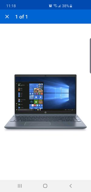 "HP 15-cw1063wm Pavilion 15.6"" FHD Ryzen 5 3500U 2.1GHz 8GB RAM 1TB HDD 128GB for Sale in Plano, TX"