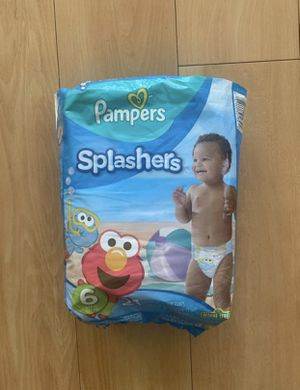 Brand New Pampers Splashers Size 6 for Sale in Fresno, CA
