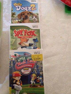 WII games for Sale in Pleasant Hill, CA