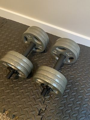 33 pounds each weights for Sale in Orem, UT