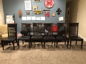 Dining chairs and stools for Sale in Eagle Mountain, UT