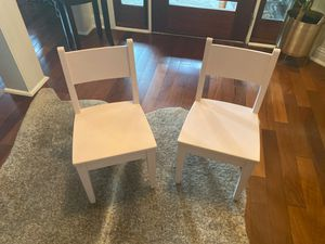 2 pink kids chairs for Sale in Austin, TX