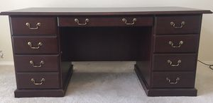 Mahogany desk for Sale in Owasso, OK