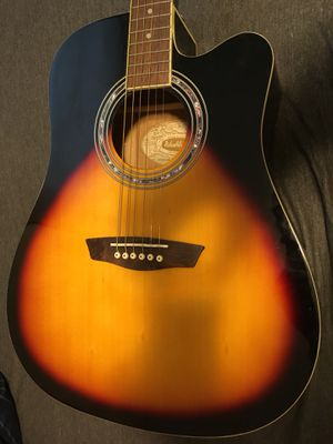 Washburn acoustic/electric guitar for Sale in Davenport, IA